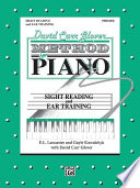 David Carr Glover Method for Piano  Sight Reading and Ear Training  Primer