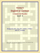 Webster s English to German Crossword Puzzles