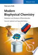 Modern Biophysical Chemistry Book PDF