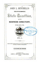 John L  Mitchell s Tennessee State Gazetteer and Business Directory