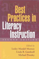 Best Practices in Literacy Instruction  Second Edition