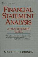 Financial Statement Analysis Book