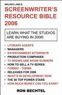 Screenwriter s Resource Bible