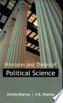Principles And Theory In Political Science Vol# 1