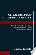Cosmopolitan Power in International Relations Book