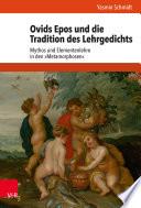 Ovids Epos und die Tradition des Lehrgedichts