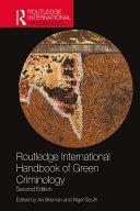 Pdf Routledge International Handbook of Green Criminology