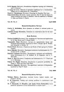 Bulletin  new Series  of the American Mathematical Society