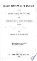 Classic Literature of England