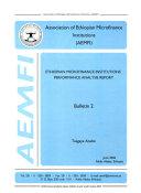 Ethiopian Microfinance Institutions Performance Analysis Report