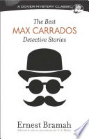 Free The Best Max Carrados Detective Stories Book
