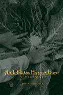 High Plains Horticulture