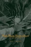 High Plains Horticulture [Pdf/ePub] eBook