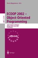 ECOOP 2002   Object Oriented Programming