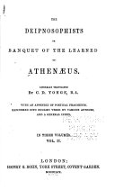 Pdf The Deipnosophists; Or, Banquet of the Learned