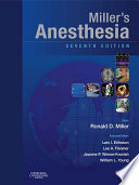"""Miller's Anesthesia:.... 1"" by Ronald D. Miller, Lars I. Eriksson"