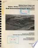Wallula Power Project And Wallula Mcnary Transmission Line Project