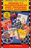 The Official Price Guide To Movie Tv Soundtracks Original Cast Albums