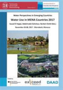 Water Perspectives in Emerging Countries Book
