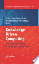 Knowledge-Driven Computing