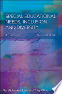 """Special Educational Needs, Inclusion and Diversity"" by Norah Frederickson"
