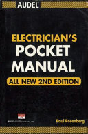 ELECTRICIAN S POCKET MANUAL 2nd Ed