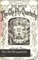 Pdf The Chi-Phi Quarterly