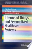 Internet Of Things And Personalized Healthcare Systems Book PDF
