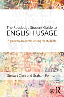 The Routledge Student Guide to English Usage Pdf/ePub eBook
