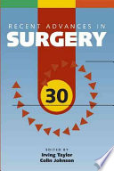 Recent Advances in Surgery 30 Book
