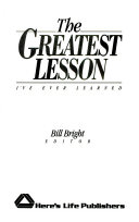 The Greatest Lesson I ve Ever Learned