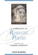 A Companion to Romantic Poetry [Pdf/ePub] eBook