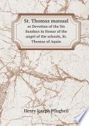 St  Thomas manual