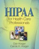 HIPAA for Health Care Professionals Pdf/ePub eBook