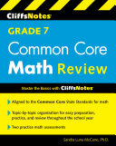 Cliffsnotes Grade 7 Common Core Math Review