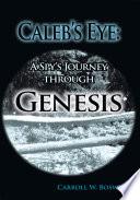 Caleb s Eye  A Spy s Journey through Genesis Book