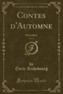 Contes d'Automne, Vol. 12