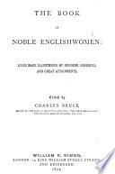 The Book Of Noble Englishwomen Book