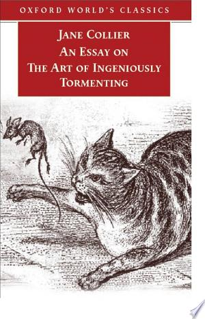 Download An Essay on the Art of Ingeniously Tormenting (Old Edition) Books - RDFBooks