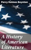 A History of American Literature [Pdf/ePub] eBook