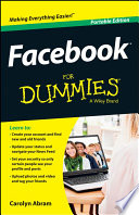 """""""Facebook For Dummies"""" by Carolyn Abram"""