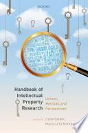 Handbook of Intellectual Property Research Book