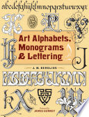 Art Alphabets Monograms And Lettering
