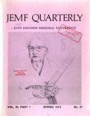 JEMF Quarterly Book