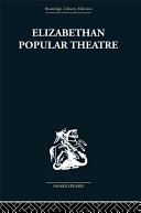 Pdf Elizabethan Popular Theatre