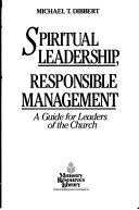 Spiritual Leadership  Responsible Management