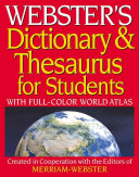 Webster's Dictionary and Thesaurus for Students