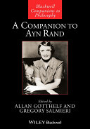 Pdf A Companion to Ayn Rand Telecharger