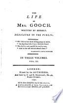 The life of mrs  Gooch  written by herself