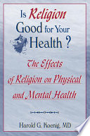 Is Religion Good For Your Health  Book PDF
